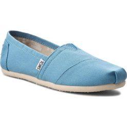 Creepersy damskie: Półbuty TOMS - Classic 10009707 Cornflower Blue