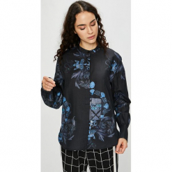 G-Star Raw - Bluzka. Niebieskie bluzki z odkrytymi ramionami marki ARTENGO, z elastanu, ze stójką. Za 549,90 zł.