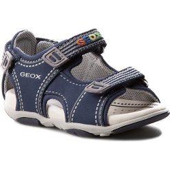 Sandały GEOX - B S.Agasim B. F B721AF 05015 C4226 Morski/Królewski. Niebieskie sandały męskie skórzane marki Geox. W wyprzedaży za 189,00 zł.