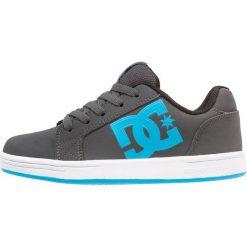 DC Shoes SERIAL GRAFFIK Tenisówki i Trampki black/blue. Czarne tenisówki męskie DC Shoes, z materiału. Za 219,00 zł.