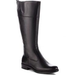 Oficerki TAMARIS - 1-25542-21 Black 001. Czarne buty zimowe damskie Tamaris, z materiału. Za 399,90 zł.