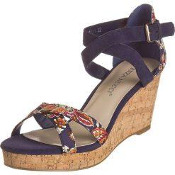 Sandały damskie: Sandały w kolorze granatowym