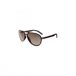 Okulary przeciwsłoneczne MH 500 kategoria 2. Brązowe okulary przeciwsłoneczne męskie aviatory QUECHUA, z poliamidu. W wyprzedaży za 29,99 zł.