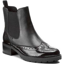 Buty zimowe damskie: Sztyblety CAPRICE - 9-25405-29 Black Comb 019