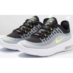 Nike Sportswear AIR MAX AXIS Tenisówki i Trampki black/volt/wolf grey/anthracit. Szare buty sportowe chłopięce Nike Sportswear, z materiału. Za 359,00 zł.