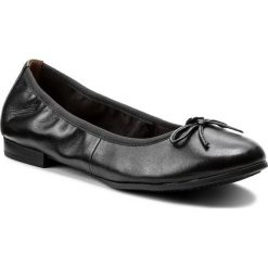 Baleriny damskie: Baleriny TAMARIS – 1-22116-20 Black Leather