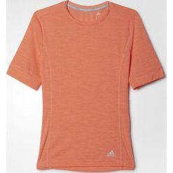 Topy sportowe damskie: Adidas Koszulka biegowa Supernova Pomarańczowa, Rozmiar S (AK2106*S)