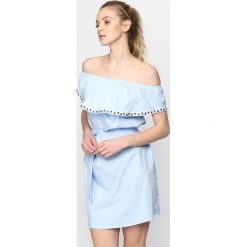 Sukienki: Niebieska Sukienka Three Sunrises