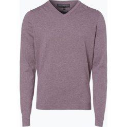 Finshley & Harding - Sweter męski, różowy. Czerwone swetry klasyczne męskie Finshley & Harding, l, z bawełny. Za 129,95 zł.