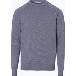 Swetry męskie: Selected – Sweter męski – Gareth, niebieski