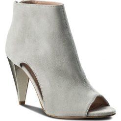 Botki EVA MINGE - Pamplona 3T 18SF1372320ES 809. Szare buty zimowe damskie Eva Minge, ze skóry, na obcasie. W wyprzedaży za 379,00 zł.