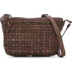 Torebki klasyczne damskie: Skórzana torebka w kolorze brązowym – 27 x 21 x 8 cm
