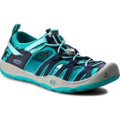 Sandały dziewczęce: Sandały KEEN – Moxie Sandal 1016351 Dress Blues/Viridian