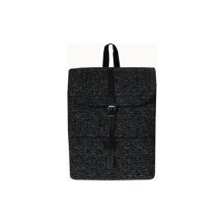 Plecaki damskie: Plecak bawełniany czarno-biały