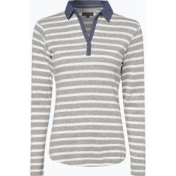 Franco Callegari - Damska koszulka z długim rękawem, szary. Zielone t-shirty damskie marki Franco Callegari, z napisami. Za 49,95 zł.