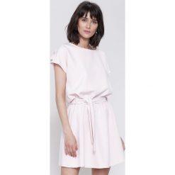 Sukienki: Różowa Sukienka White Lilies