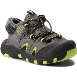 Sandały męskie: Sandały KAPPA - Taken K 260585K Grey/Lime 1633