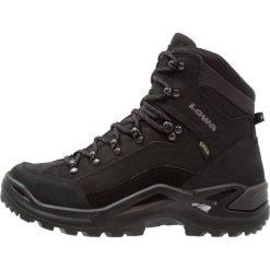 Lowa RENEGADE GTX  Buty trekkingowe schwarz. Czarne buty trekkingowe męskie Lowa, z materiału, outdoorowe. Za 809,00 zł.