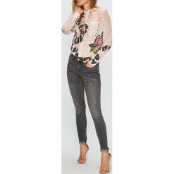 Liu Jo - Jeansy. Szare jeansy damskie rurki Liu Jo, z bawełny. Za 849,90 zł.
