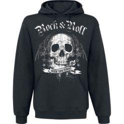 Bejsbolówki męskie: Rock N Roll Demons Bluza z kapturem czarny