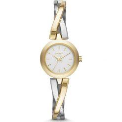 Zegarek DKNY - Crosswalk NY2171 Gold/Silver/Gold. Szare zegarki damskie DKNY. Za 669,00 zł.