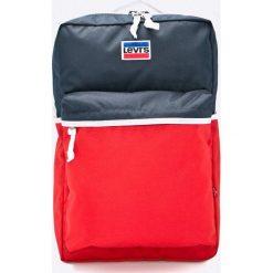Levi's - Plecak. Czerwone plecaki męskie Levi's®. W wyprzedaży za 199,90 zł.