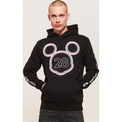 Bluza Mickey Mouse - Czarny. Czarne bluzy męskie House, l, z motywem z bajki. Za 139,99 zł.