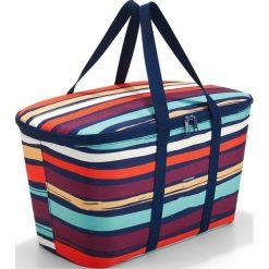 Torba Coolerbag Artist Stripes. Zielone torby plażowe marki Reisenthel, z materiału. Za 149,00 zł.