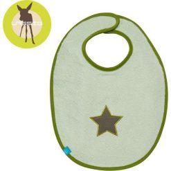 Śliniak bawełniany wodoodporny  Starlight olive 6-24m (LTEXBM069). Zielone śliniaki Lässig, z bawełny. Za 54,29 zł.