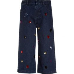 Chinosy chłopięce: Sisley TROUSERS Jeansy Relaxed Fit blue denim