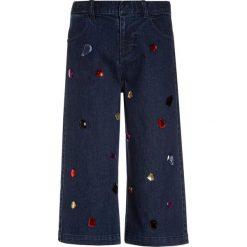 Sisley TROUSERS Jeansy Relaxed Fit blue denim. Niebieskie jeansy dziewczęce Sisley, z bawełny. Za 179,00 zł.