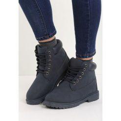 Granatowe Traperki Untoward. Szare buty zimowe damskie Born2be, na obcasie. Za 79,99 zł.