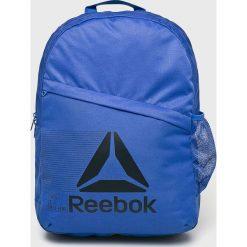 Reebok - Plecak. Niebieskie plecaki męskie Reebok, z materiału. Za 129,90 zł.