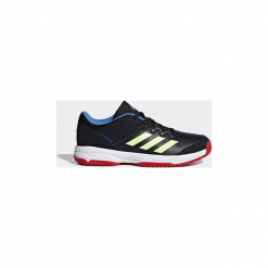 Buty Dziecko adidas  Buty Court Stabil JR Shoes. Czarne trampki chłopięce Adidas. Za 199,00 zł.