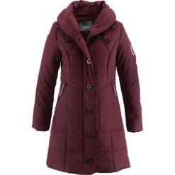 Płaszcz pikowany bonprix czerwony klonowy. Czerwone płaszcze damskie bonprix. Za 229,99 zł.