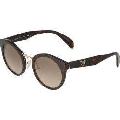 Prada Okulary przeciwsłoneczne havana. Brązowe okulary przeciwsłoneczne damskie aviatory Prada. Za 1049,00 zł.