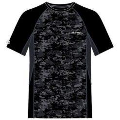 Hi-tec Koszulka męska Hocke Black/Grey Pixel Camo Print/Anthracite r. XL. Czarne t-shirty męskie Hi-tec, m. Za 54,54 zł.