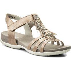 Rzymianki damskie: Sandały RIEKER – K2254-31 Rosa
