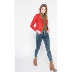 Lee - Jeansy Jodee. Niebieskie jeansy damskie rurki marki Lee, z bawełny. W wyprzedaży za 249,90 zł.