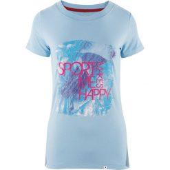 4f Koszulka damska HOL18-TSD615 niebieska r. S. Niebieskie bluzki damskie marki 4f, s. Za 26,99 zł.
