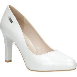 Szare czółenka na słupku perła Sergio Leone 1457. Czarne buty ślubne damskie marki Sergio Leone. Za 108,99 zł.