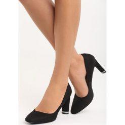 Czarne Czółenka All Day. Czarne buty ślubne damskie marki Born2be, na obcasie. Za 69,99 zł.