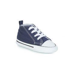 Buty Dziecko Converse  CHUCK TAYLOR FIRST STAR CANVAS HI. Niebieskie trampki chłopięce Converse, retro. Za 129,00 zł.