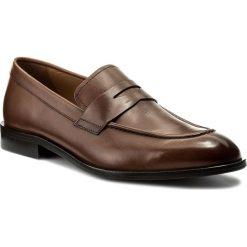 Półbuty GEOX - U Saymore D U825LD 00043 C6001 Cognac. Brązowe buty wizytowe męskie Geox, ze skóry. W wyprzedaży za 469,00 zł.