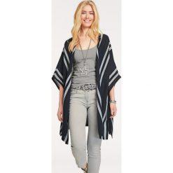 Odzież damska: Kardigan w kolorze czarno-szarym
