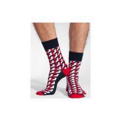 3D - kolorowe skarpetki Spox Sox. Czerwone skarpetki męskie marki DOMYOS, z elastanu. Za 20,00 zł.