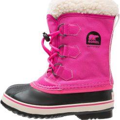 Buty zimowe damskie: Sorel YOOT PAC Śniegowce haute pink