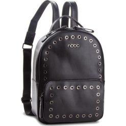Plecak NOBO - NBAG-F2340-C020 Czarny. Czarne plecaki damskie Nobo, ze skóry ekologicznej, eleganckie. W wyprzedaży za 199,00 zł.