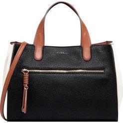 Fiorelli - Torebka Elena. Brązowe torebki klasyczne damskie marki Fiorelli, w paski, z materiału, duże. Za 369,90 zł.