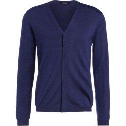 Swetry rozpinane męskie: J.LINDEBERG LYON Kardigan blue mouline